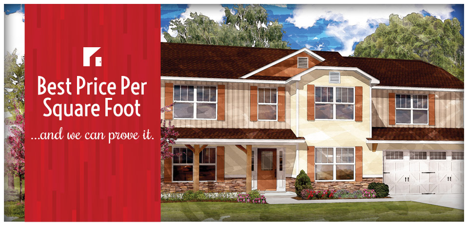 Best price per square foot